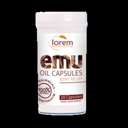 Emu oil capsules product image