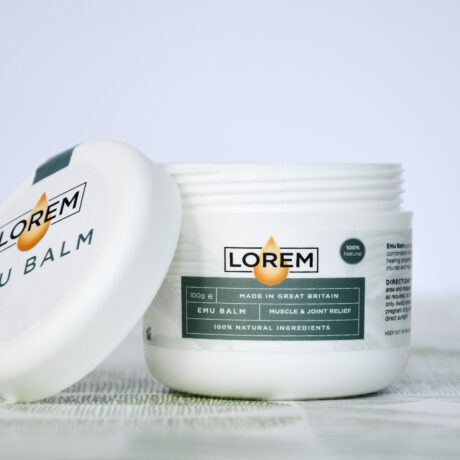 Emu balm to support a natural pain free life. Our Emu oil is sourced from Australia. Click to view the full Lorem range.