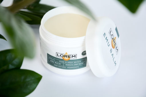 Emu balm to support a natural pain free life. Our Emu oil is sourced from Australia. Click to view the full Lorem range. or to learn more about the history of emu oil.